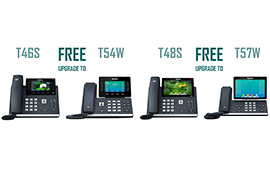 Yealink Smart Business Phone Series – T46S Free Upgrade